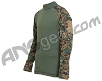 Truspec T.R.U. Combat Shirt - Woodland Digital/Olive Drab