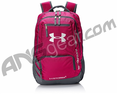 04334487e0 Under Armour Storm Hustle II Backpack - Tropic Pink Graphite White (654)