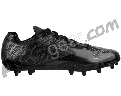 Under Armour Nitro Low MC Paintball Cleats - Black/Charcoal