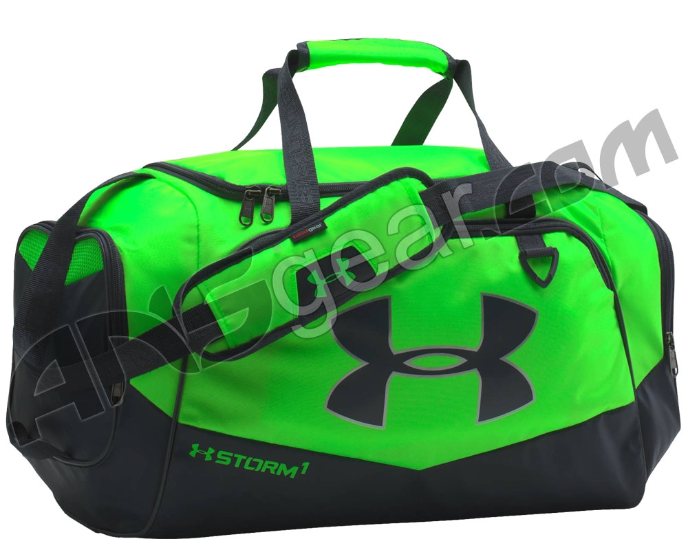 2d646e755da1 Under Armour Storm Undeniable II Small Duffle Bag - Hyper Green Stealth  Grey (389)