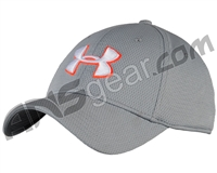 Under Armour Blitzing II Stretch Fit Hat - Grey/Orange (941)