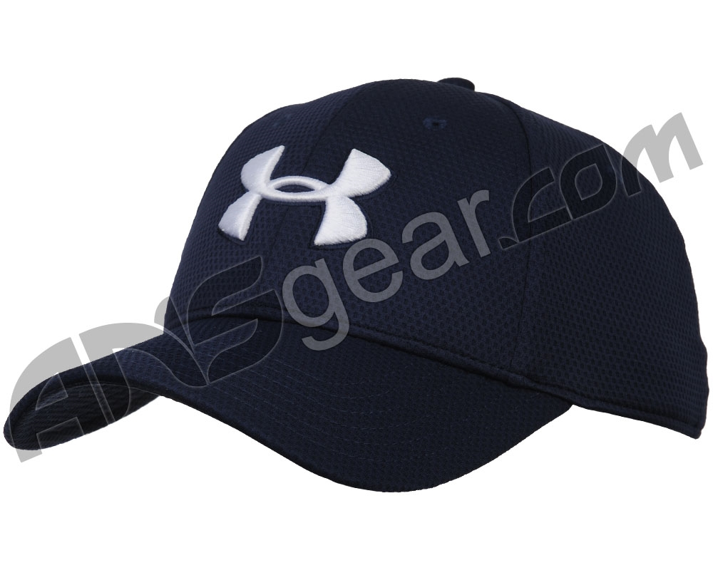 1dd25738a2d Under Armour Blitzing II Stretch Fit Hat - Midnight Navy White (410)