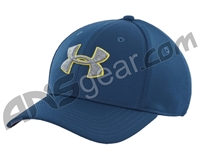 Under Armour Blitzing II Stretch Fit Hat - Petrol Blue (437)
