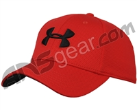 Under Armour Blitzing II Stretch Fit Hat - Red/Red/Black (600)