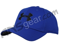 Under Armour Blitzing II Stretch Fit Hat - Royal/Royal/Black (400)