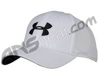 Under Armour Blitzing II Stretch Fit Hat - White/Black (100)