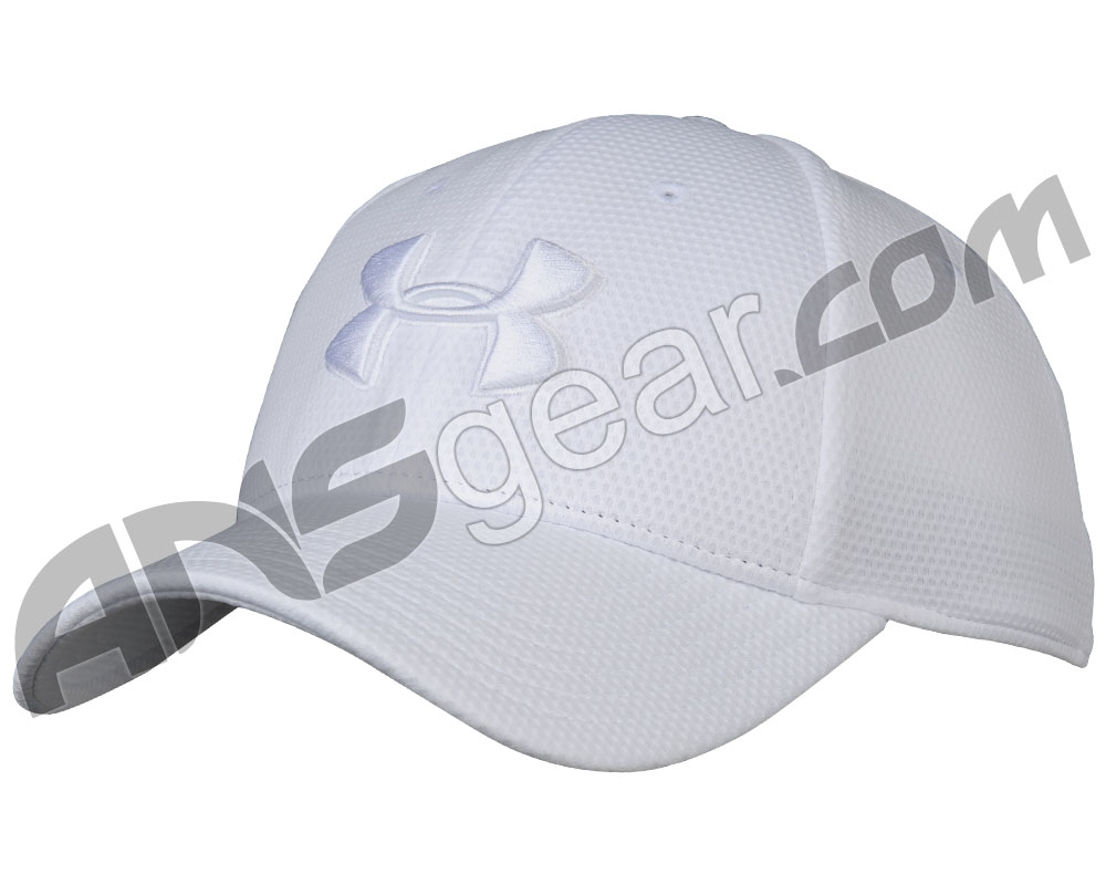 c4321d06d4c Under Armour Blitzing II Stretch Fit Hat - White White (101)