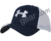 Under Armour Golf Mesh Stretch 2.0 Hat - Academy/White (409)