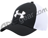 Under Armour Golf Mesh Stretch 2.0 Hat - Black/White (001)