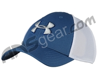 Under Armour Golf Mesh Stretch 2.0 Hat - Blue/White (983)