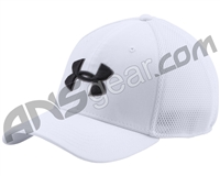 Under Armour Golf Mesh Stretch 2.0 Hat - White/Black (100)