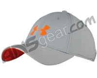Under Armour Headline Stretch Fit Hat - Grey/Orange (941)