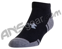 Under Armour Resistor III Lo Cut Socks - Black/Graphite (001)
