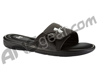 Under Armour Ignite Slide Sandals - Black/Black/White (001)