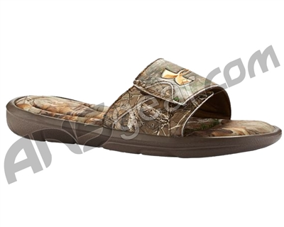 Under Armour Ignite Camo Slide Sandals - Realtree/Brown (946)