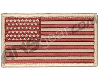 USA Flag Patch (Front) - Desert Tan