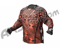 2012 Valken Redemption Paintball Jersey - Orange Slash