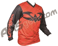 Valken Fate II Paintball Jersey - Black/Red