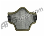 Valken 2G Wire Mesh Tactical Airsoft Mask - Green Skull