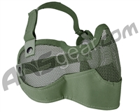 Valken 3G Wire Mesh Tactical Airsoft Mask - Green