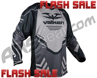 Valken Agility V17 Paintball Jersey - Black/Grey