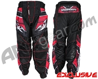 Valken Attack Jogger Fit Paintball Pants - Black/Red