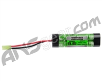 Valken Energy 9.6v NiMH 1600mAh Flat Brick Mini Airsoft Battery (48115)