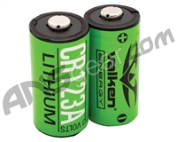 Valken Energy CR123A 3v Lithium Battery - 2-Pack (48252)