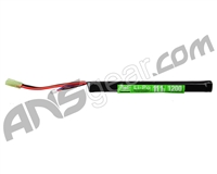 Valken Energy LiPo 11.1v 1200mAh 20C Long Stick Airsoft Battery - 1 Stick (62937)