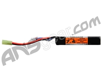 Valken Energy LiPo 7.4v 1000mAh 20C Stick Airsoft Battery (62951)