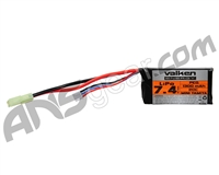 Valken Energy LiPo 7.4v 1300mAh PEQ-15 Airsoft Battery (62968)