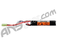 Valken Energy LiPo 7.4V 1300mAh 20C 2 Split Airsoft Battery (72400)