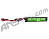 Valken Energy LiPo 11.1V 1000mAh 20C Stick Airsoft Battery - (Female Dean) (78662)