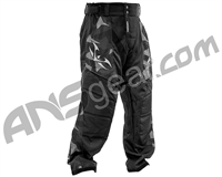 Valken Crusade Paintball Pants - Riot Black/Grey