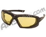 Valken V-Tac Echo Airsoft Goggles - Yellow