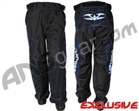 "Valken Fate Exo ""Jogger Fit"" Paintball Pants - Black/Blue"