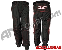 "Valken Fate Exo ""Jogger Fit"" Paintball Pants - Black/Red"