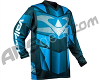 Valken 2017 Fate Exo Paintball Jersey - Blue