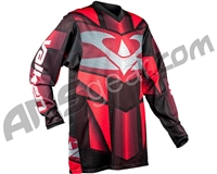 Valken 2017 Fate Exo Paintball Jersey - Red