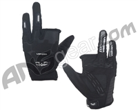 Valken Impact Two Finger Paintball Gloves - Black