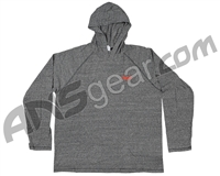 Valken Hooded Long Sleeve T-Shirt - Heather Grey