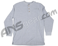 Valken Long Sleeve Thermal T-Shirt - Heather Grey