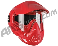 Valken MI-3 Gotcha Paintball Mask w/ Top Strap - Red