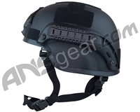 Valken MICH 2000 Tactical Airsoft Helmet w/ Mount & Rails - Black