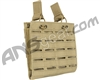 Valken Airsoft Tactical Multi Rifle Mag Pouch LC - Double - Tan