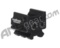 Valken Tactical Red Pistol Laser w/ Dual Weaver Mini - Black