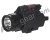 Valken Tactical LED Flashlight/Laser Sight Combo - Black