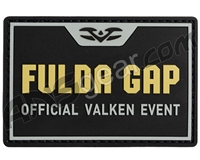 Valken Tactical Rubber Velcro Patch - Event F (96536)