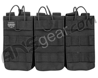 Valken Airsoft Tactical AR Triple Magazine Pouch - Black
