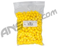 500 Count Valken Gotcha .50 Cal Reusable Soft Foam Paintballs (Reball) - Yellow